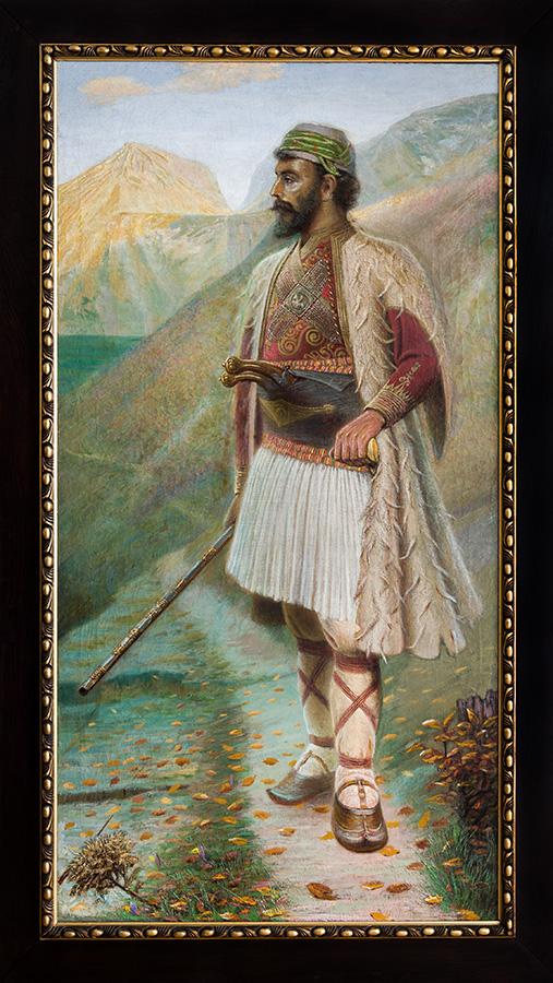Харамия, 1900 – 1910 маслени бои, платно, 185,5 х 96,5 см