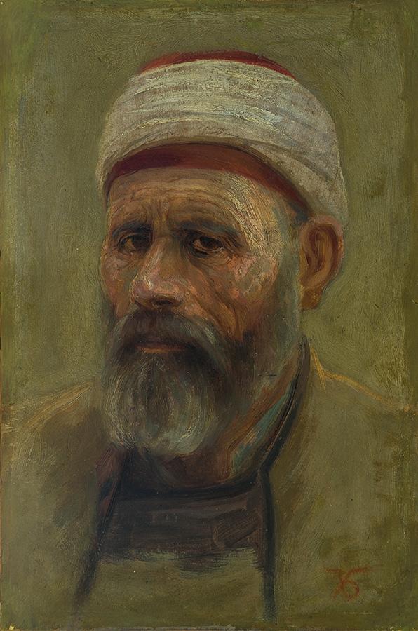 Турчин, ок. 1910 маслени бои, картон, 45 х 29,8 см